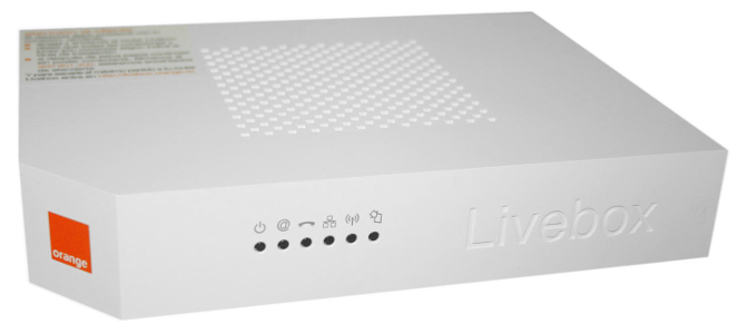 livebox astoria dsl