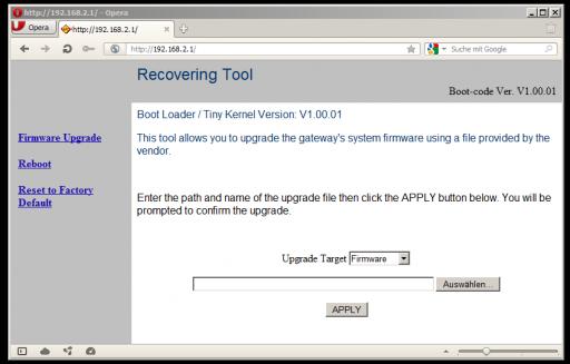 OpenWrt Project: Arcadyan ARV752DPW