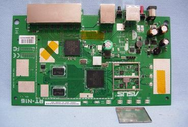 circuit board top