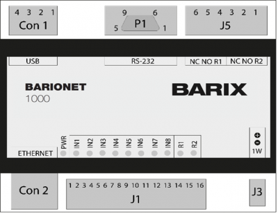 BARIONET 1000 TOP VIEW