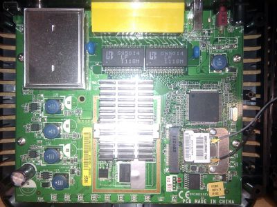 Cisco EPC3825 PCB top side