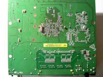 Cisco EPC3825 PCB bottom side