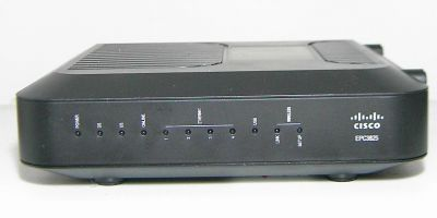 Cisco EPC3825 front