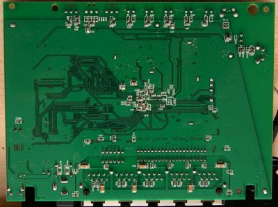 D-Link DIR-615D2 pcb bottom side