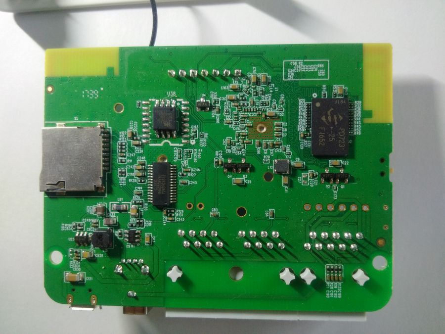 PCB bottom view of GL-AR750