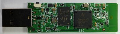 Front side of PCB