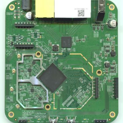 GL-S1300 - Top of PCB