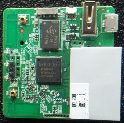 PCB Front of the MT300N V2