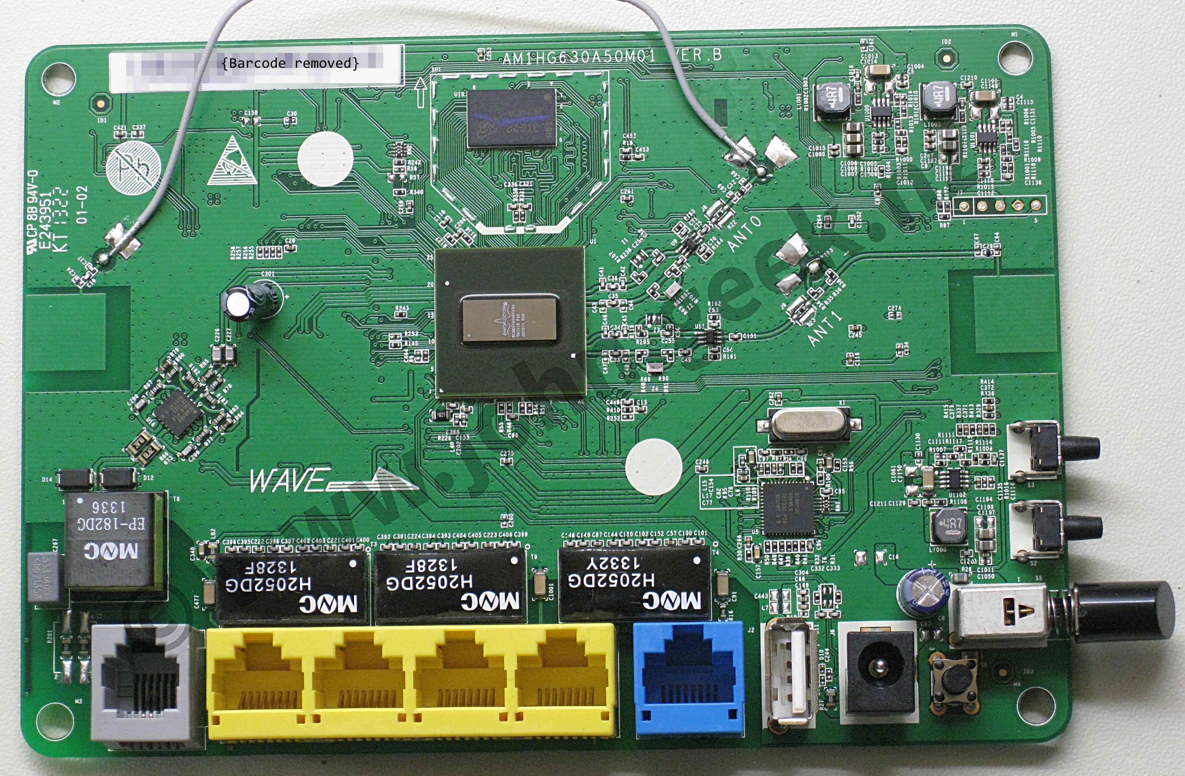 OpenWrt Project: Huawei HG630
