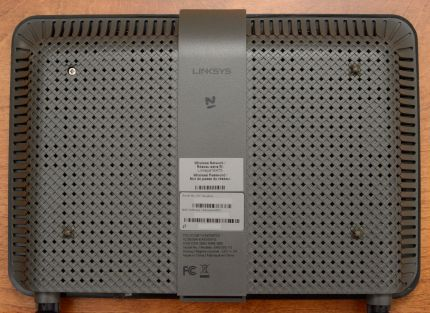 Linksys EA6350 v3 Back