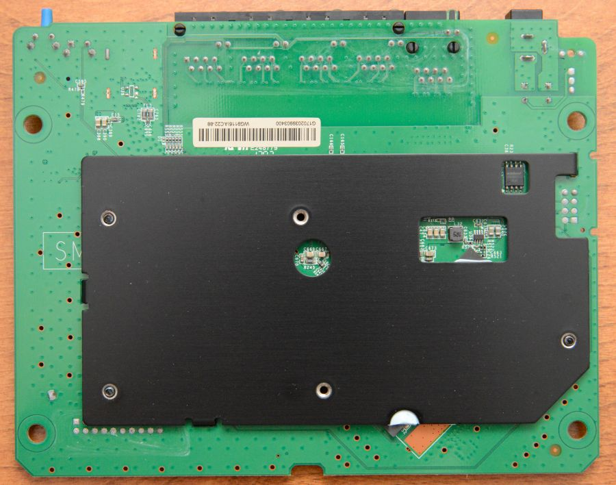 Linksys EA6350 v3 PCB Back