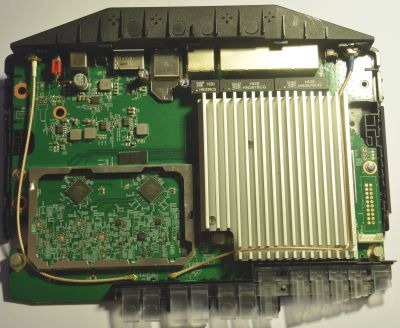 **Photo of assembled PCB top view