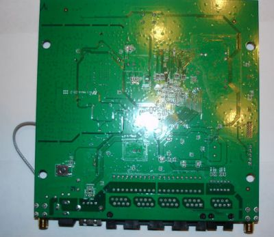 This is the Circuit Board Back of WRT160NL