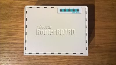 OpenWrt Project: MikroTik RB750Gr3