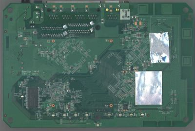 Netgear WNDR3700 PCB bottom side