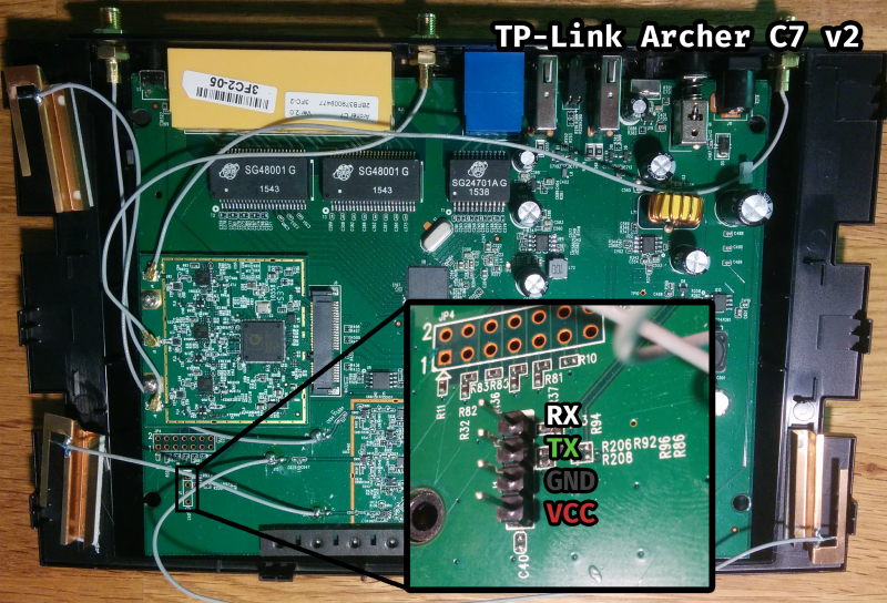OpenWrt Project: TP-Link Archer C7 AC1750