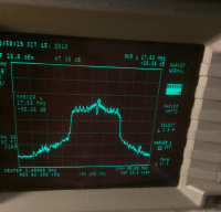 Image of analysis of the 20MHz signal at txpower 1200