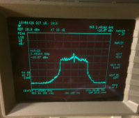 Image of analysis of the 20MHz signal at txpower 800