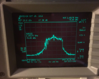 Image of analysis of the 20MHz signal at txpower 900