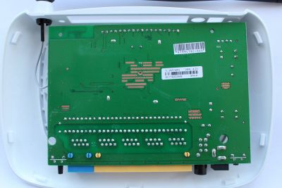 TL-WR740N v4.23 board back view