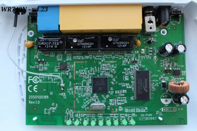 TL-WR740N v4.23 board front view