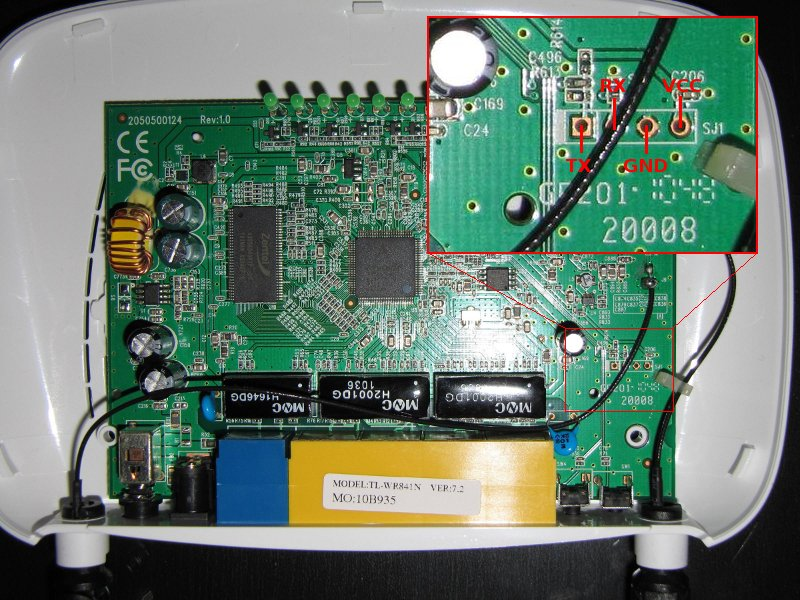 OpenWrt Project: TP-Link TL-WR841ND