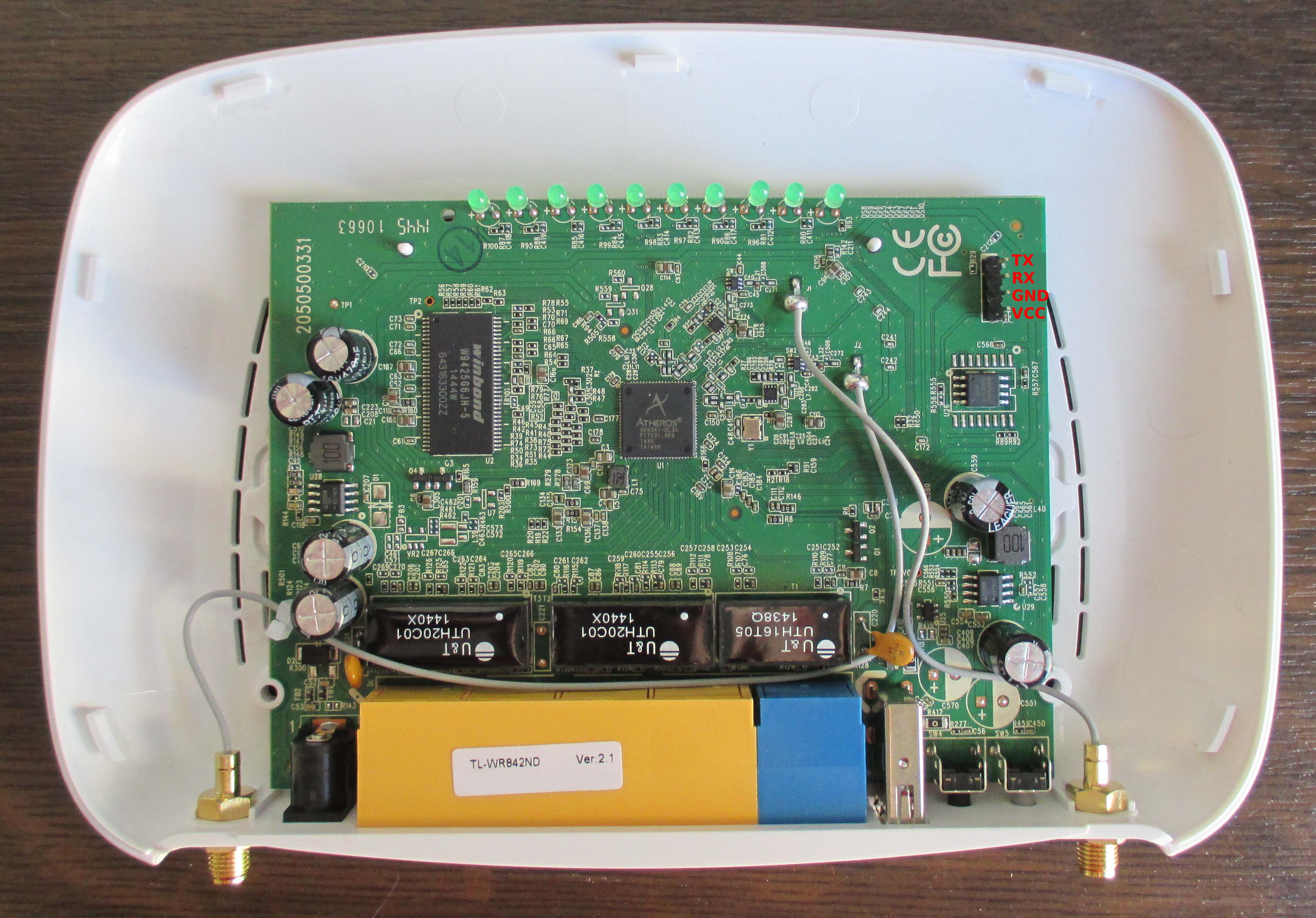 OpenWrt Project: TP-Link TL-WR842ND