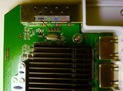 EP-R6 Serial Port location and pin indentification