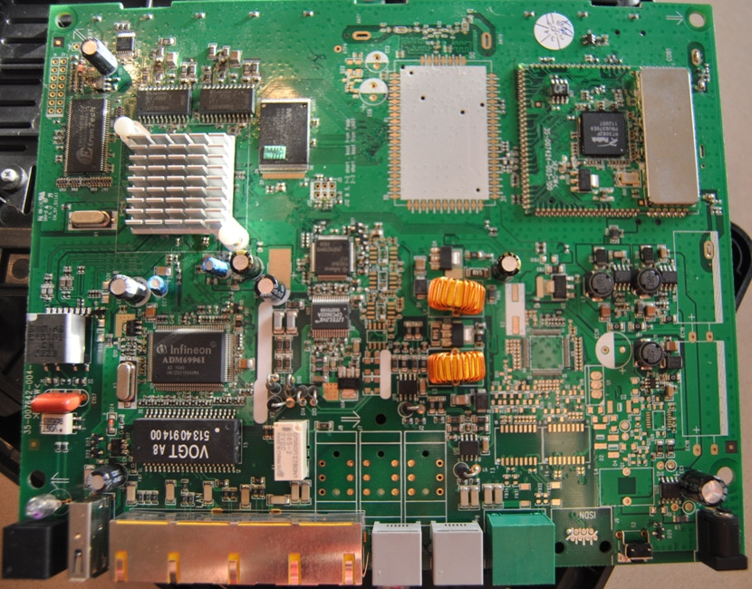 Photo of the IAD303N board