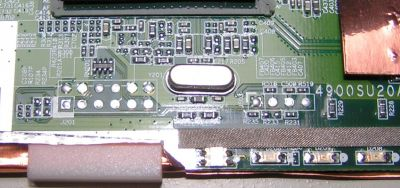 Serial + JTAG connectors on PCB of WAG54GX2